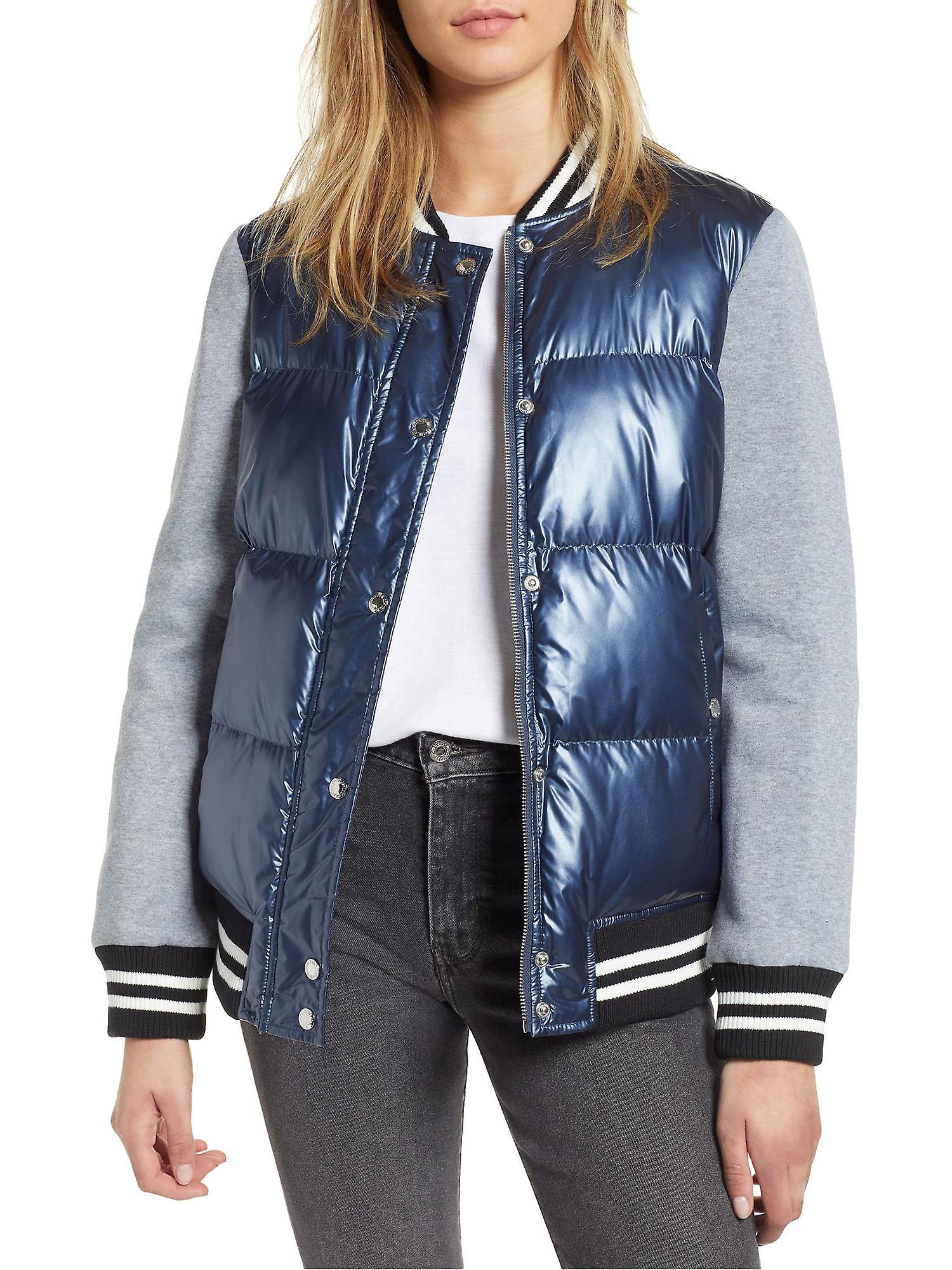 Levi's Quilted Satin Baseball Jacket