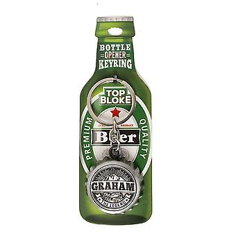 History & Heraldry Keyring - Graham Bottle Opener