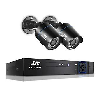1080P CCTV Security Camera 4-Channel (2 Pcs)