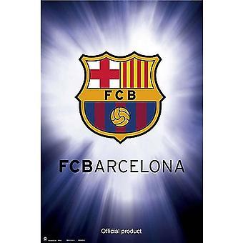 FC Barcelona Crest Affisch