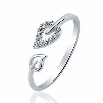 Lyx Blad Design Silver Ring
