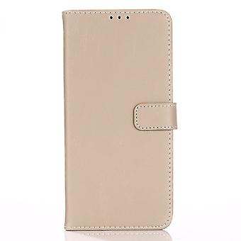Samsung Galaxy A51 Retro Wallet Case - Beige