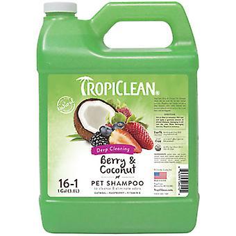 TropiClean Champú Frambuesa y Coco 3,78 L (Dogs , Grooming & Wellbeing , Shampoos)