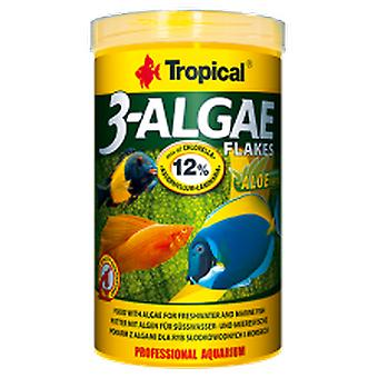 Tropical 77164 3-Algae Escamas 250 ml (Fish , Food , Warm Water)