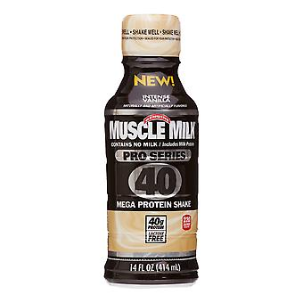 Muscle Milk Pro 40 Vanilla-( 414 Ml X 12 Bottles )