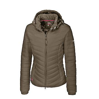 Pikeur Calera Womens Quilted Jacket - Olive Tree