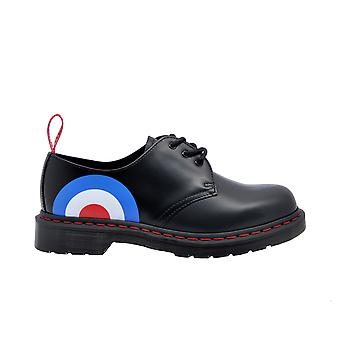 Dr. Martens 1461whoblacktarge Men-apos;s Black Leather Lace-up Chaussures
