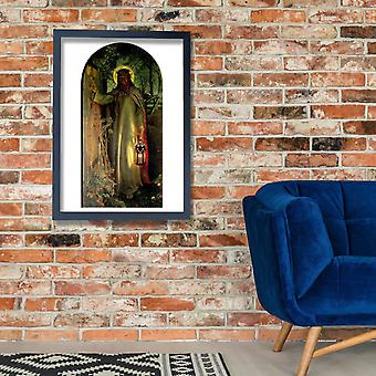 William Holman Hunt - The Light of the World Poster Print Giclee