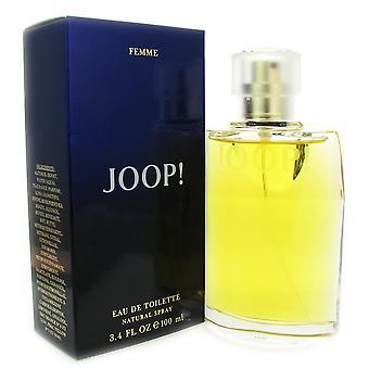 Joop para mulheres por joop 3.4 oz 100 ml eau de spray de toilette