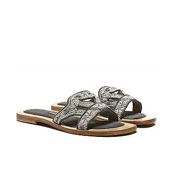 Meher Kakalia Queen Gobi Leather Sliders