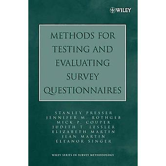 Evaluating Survey Questionnaires by Presser