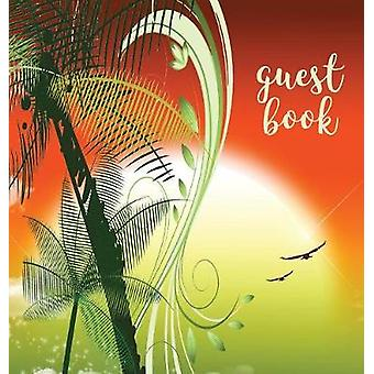 GUEST BOOK Hardback Visitors Book Guest Comments Book Vacation Home Guest Book Beach House Guest Book Visitor Comments Book House Guest Book Comments Book suitable for vacation homes beach h by Publications & Angelis