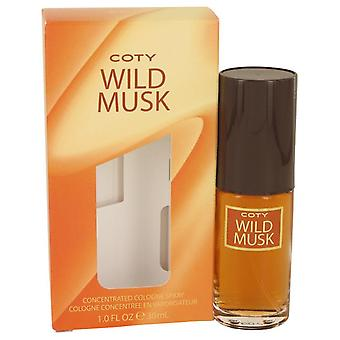 Wild musk concentrate cologne spray by coty 534517 30 ml