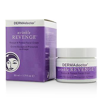 Wrinkle revenge rescue & protect facial cream 174298 50ml/1.7oz