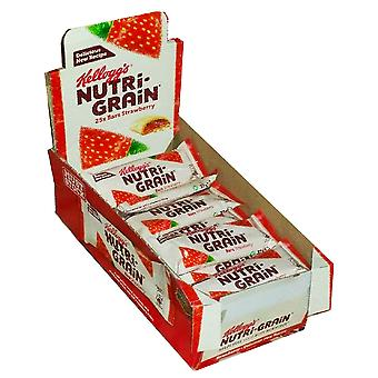 Pack of 25 Kellogg's Nutrigrain 37g Bars, Strawberry, Pack of 25, 9999243-STRB