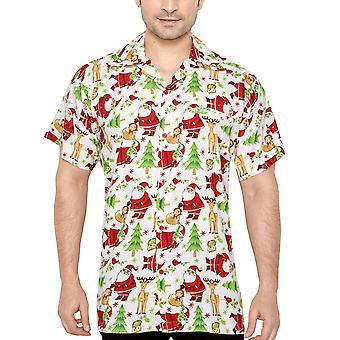 Club cubana men's regular fit classic short sleeve casualshirt ccx4