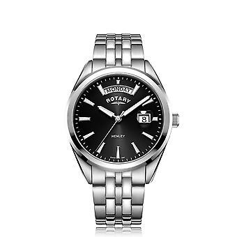 Rotary GB05290-04 Men's Henley Day Date Wristwatch