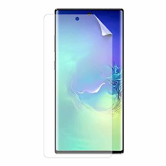 Stuff Certified® 3-Pack Screen Protector Samsung Galaxy Note 10 Plus Foil Foil PET Foldable Protective Film Film