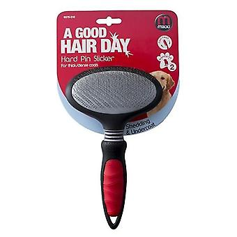 Mikki Hard Pin Slicker Dog  Grooming Brush