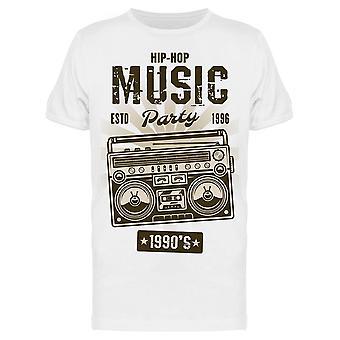الهيب هوب الموسيقى التسعينات حزب تي الرجال & apos;s -الصورة من قبل Shutterstock