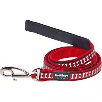 Red Dingo Correa 1M20 Red Dingo - Bone 12mm (Dogs , Collars, Leads and Harnesses , Leads)