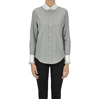 Céline Ezgl076045 Women's Grey Cotton Shirt