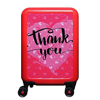 myTrolley Thank You S, 4 rollen, 55 cm, 32 L, rood