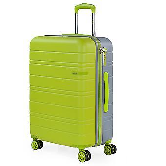 JASLEN San Marino Trolley M, 4 wielen, 44 cm, 89 L, groen