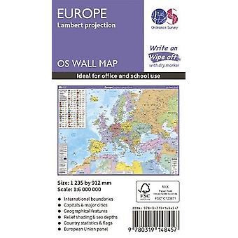 Europe - Lambert projection - 9780319148457 Book