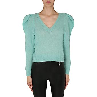 Filosofia Por Lorenzo Serafini 09325704335 Women's Green Wool Sweater