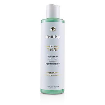 Cabello de madera nórdica + champú corporal (purificación vigorizante de todos los tipos de cabello) 226070 350ml/11.8oz