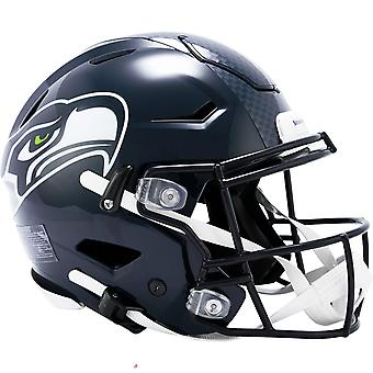 Riddell Authentic SpeedFlex Helmet - NFL Seattle Seahawks