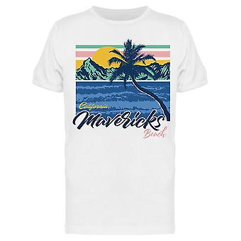 California Mavericks Beach Tee Men's -Bild von Shutterstock