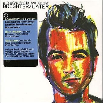 Brighter/Later: A Duncan Sheik Anthology [CD] USA import