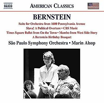 Berio / Sao Paulo Symphony Orch - 1600 Pennsylvania Avenue Suite / Slava [CD] USA import