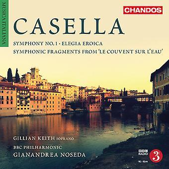 Casella / BBC Philharmonic / Noseda - Orchestral Works 4 [CD] USA import