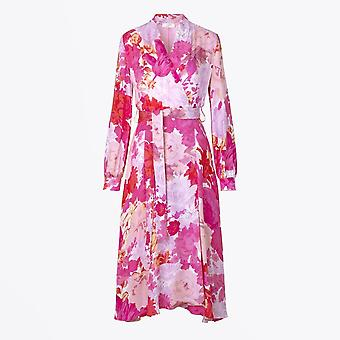 Stine Goya - Robe florale de réflexion - Rose