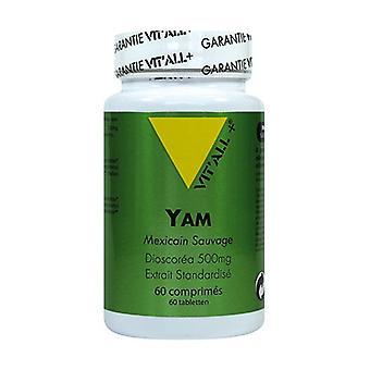 Wild Yam 500mg Standardoitu Uute 60 kasvi kapselia
