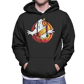 Ghostbusters Pumpkin No Ghost Logo Men's Hooded Sweatshirt