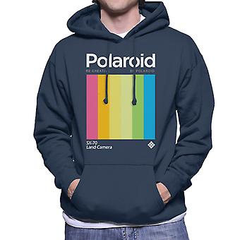 Polaroid olla luova olla polaroid miehet&s hupullinen collegepaita