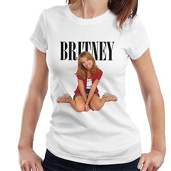 Britney Spears 90er Jahre Fotoshooting Frauen's T-Shirt