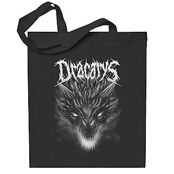 Dracarys Metal Band Targaryen peli valtaistuinten Totebag