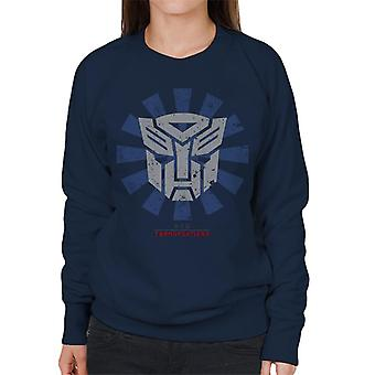 Transformers Retro Japanese Women&s Collegepusero
