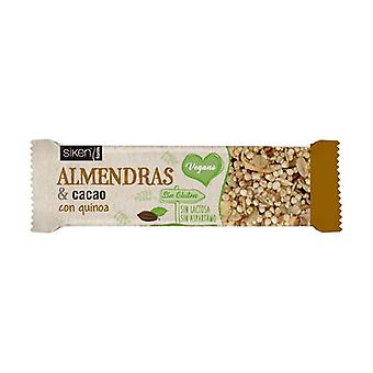 Sikenform Almond and Cocoa Vegasnack 1 bar of 28g