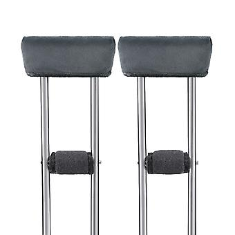 Universal Crutch Pads-underarm And Hand Grip Padding