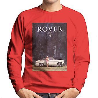 Rover Poster Design British Motor Heritage Men's Sweatshirt
