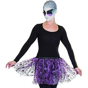 Halloween Tyl sukně LED (včetně baterií) Dámský kostým Tutu Mini Sukně Dámské