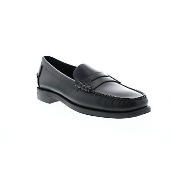 Sebago Classic Dan Wax Mens Black Loafers & Slip Ons Penny Shoes