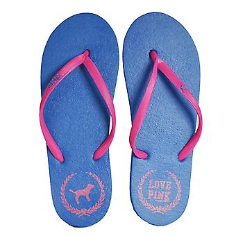 Femmes-apos;s Pink Flip Flops Pool Beach Summer Toe Post Sandals Chaussures filles