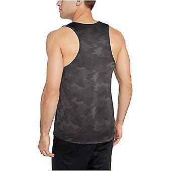 Essentials Miehet&s Tech Stretch Performance Tank Top shirt, Charcoal Cam...